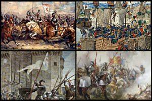 Plantagenet-Valois/Perang Seratus Tahun (1337-1453; 116 tahun)
